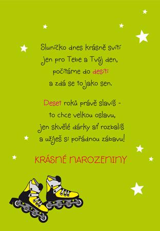 básničky pro děti k narozeninám Desáté narozeniny   přání pro děti básničky pro děti k narozeninám