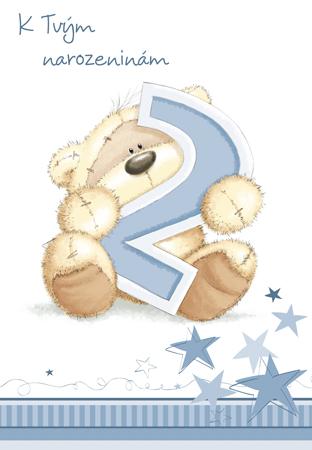 přání k 2 narozeninám Fizzy druhé narozeniny   přání pro děti přání k 2 narozeninám