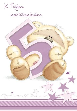 přání k 5 narozeninám Fizzy páté narozeniny   přání pro děti přání k 5 narozeninám